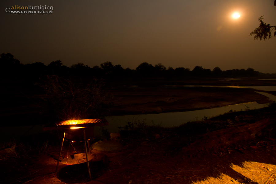 Braai with a view of the South Luangwa