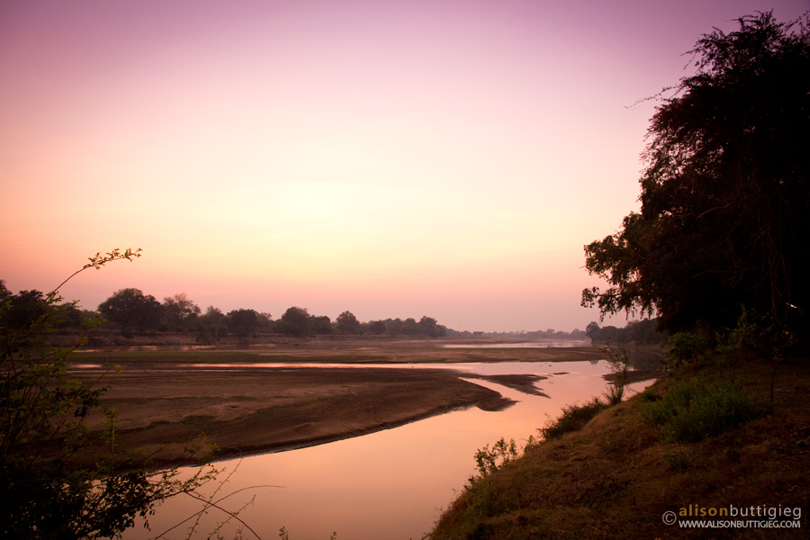 Croc Valley Sunrise over the South Luangwa