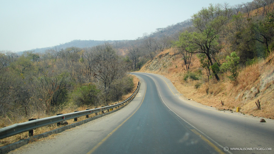Road to Chirundu