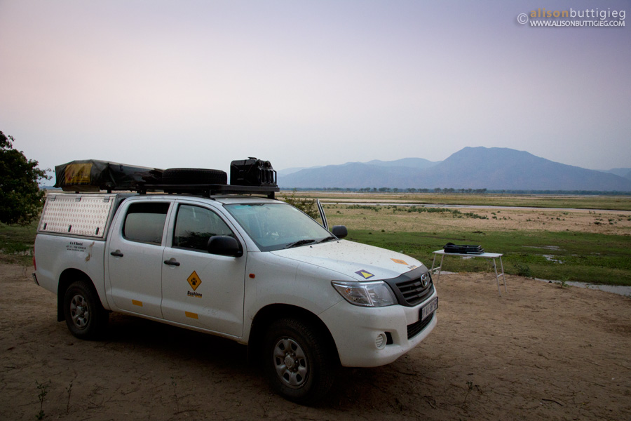 Nkupe Campsite, Mana Pools