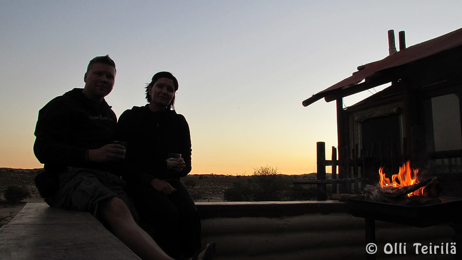 No day on safari would be complete without sundowners